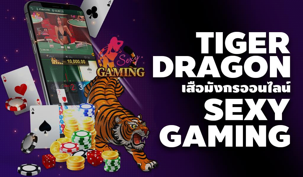 เสือมังกรออนไลน์ Sexy Gaming เกมไพ่คาสิโนออนไลน์ บนเว็บ สโบเบท
